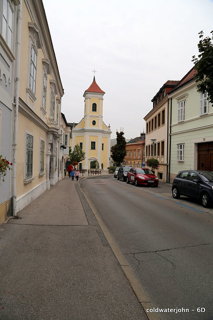 The Franciscan Monastery Church from Haydn's House, Eisenstadt