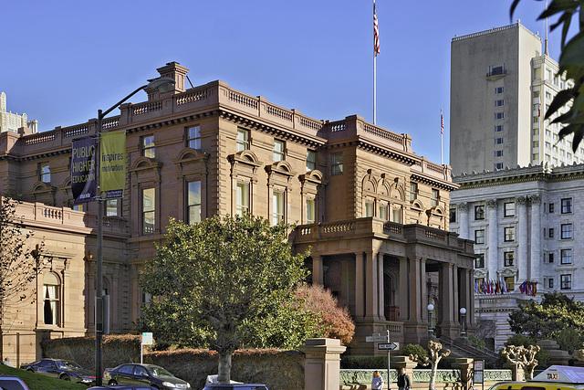 The Pacific-Union Club – California Street, San Francisco, California