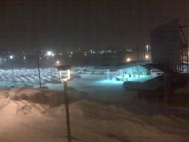 Blizzard in Milwaukee