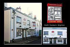 Caxton Arms - Brighton - 1.1.2013