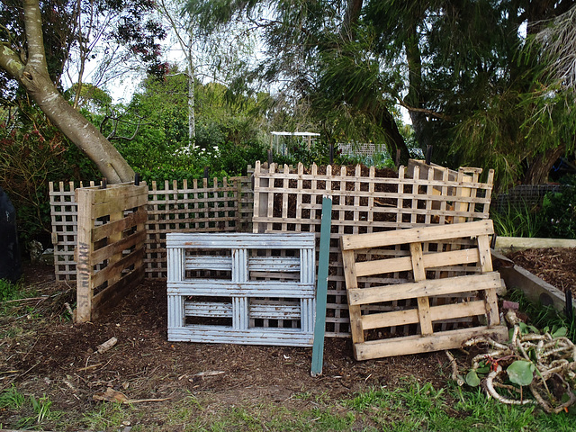 our new compost bays