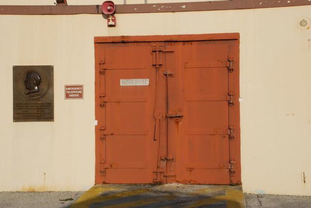 Blockhouse Door
