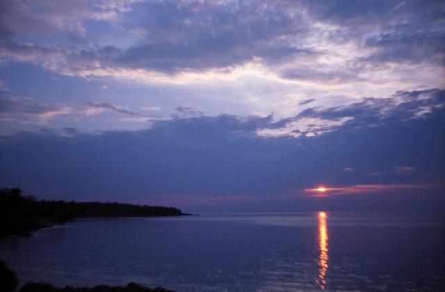 Copper Harbor Sunset