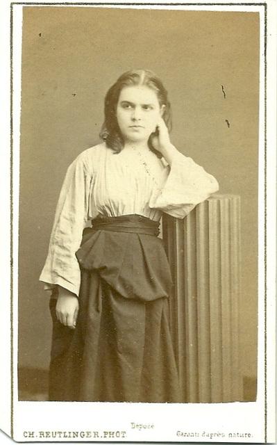 Celestine Galli-Marie by Reutlinger