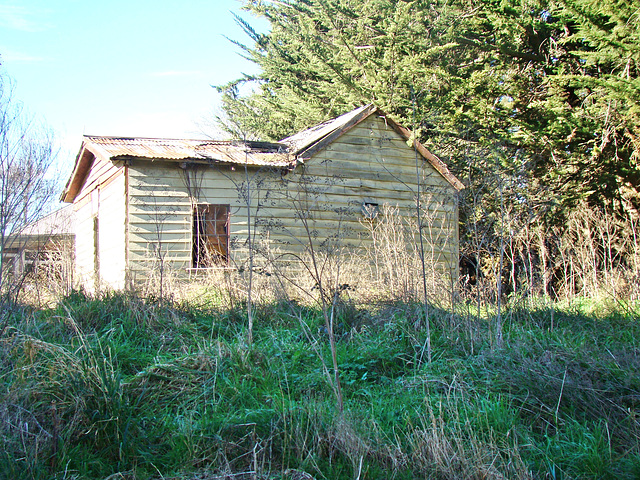 Abandoned house at Arowhenua