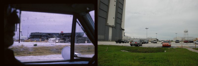 Compare: VAB crawlerway, 1965 and 2009