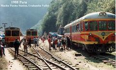 1988 Peru Machu  Picchu Station