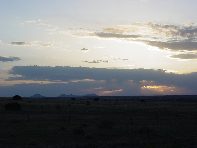 Sunset Over Sangre de Christos