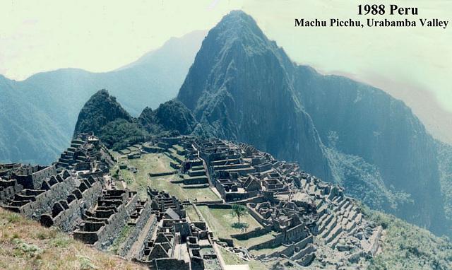 1988 Peru Machu Picchu Composite