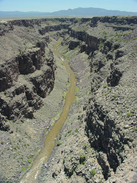 Canyon Near Taos