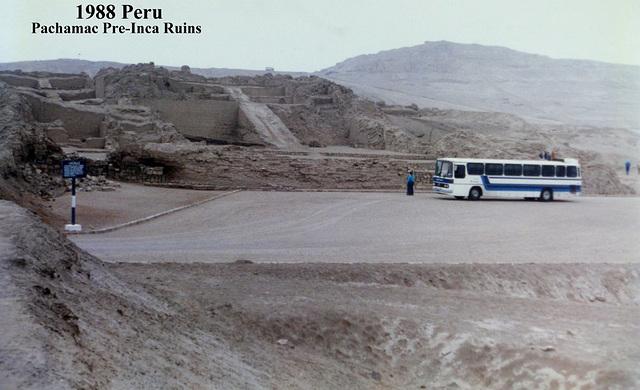 1988 Peru Pachamac Pre-Inca Ruins