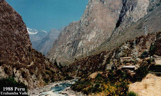 1988 Peru Urabamba Valley
