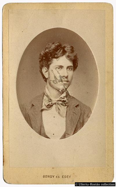 Portrait of Jakab Rezsö (1877)