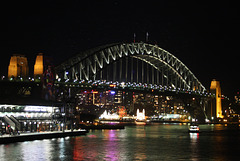 Nighttime at the Harbour Bridge