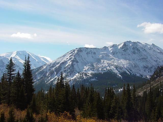 Mt. Elbert from Mt. Massive