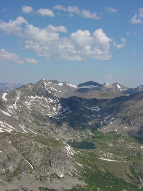 Nearby Peaks and Tarns