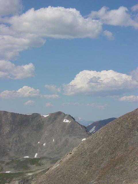 Nearby Ridge