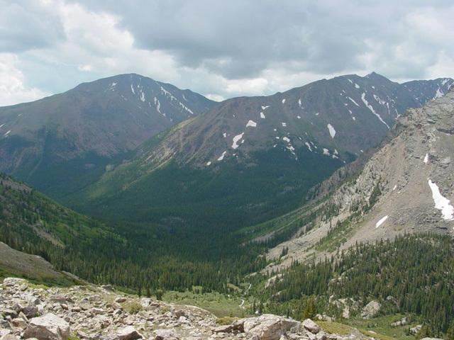 Mt. Elbert and Nearby Peaks