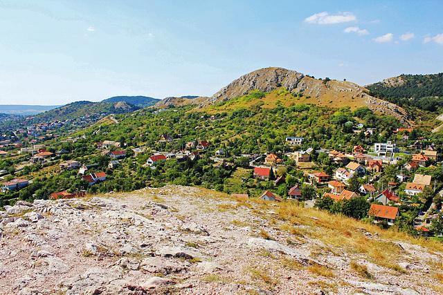 Blick vom Steinberg auf Budaörs (Wudersch)