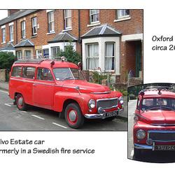 Former Volvo fire service estate car Oxford c2005