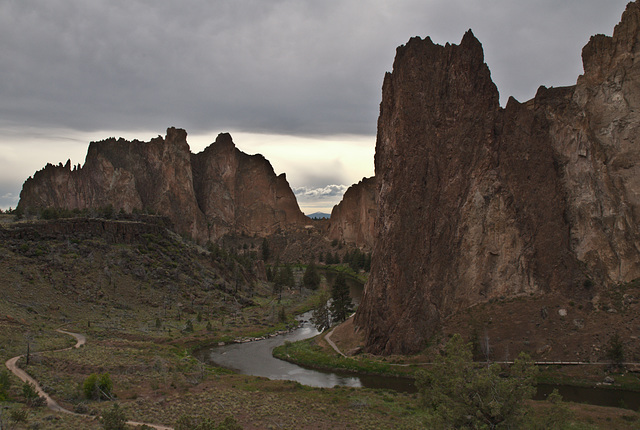 Brooding Smith Rock