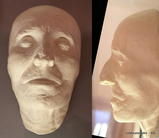 Josef Haydn's Death Mask, made by his manservant