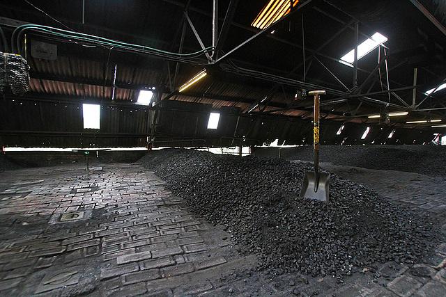 Coal for the kiln