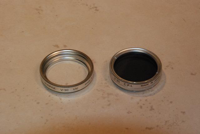 Filter Ring and Circular Polarizer