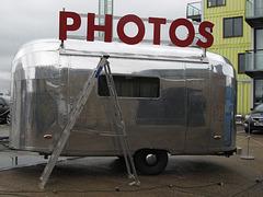 A trailer full of photos