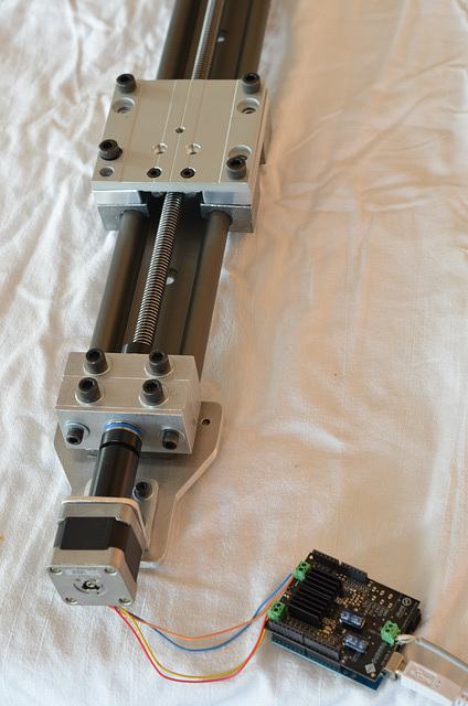 Mo-Co Dolly, Rough Assembly