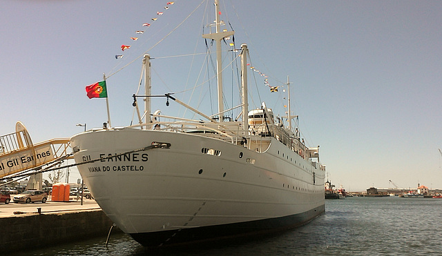 The Hospital Ship, Gil Eanes