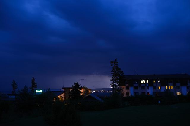 Lightning Over the Tatras