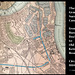 Map of Grand Surrey Canal east end 1884