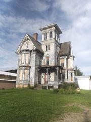 Haunted mansion / Maison hantée - Photo originale