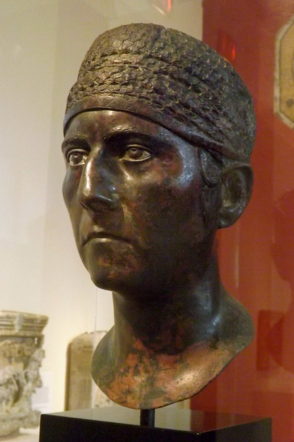 Bronze Trajanic Portait of a Woman in the Princeton University Art Museum, September 2012