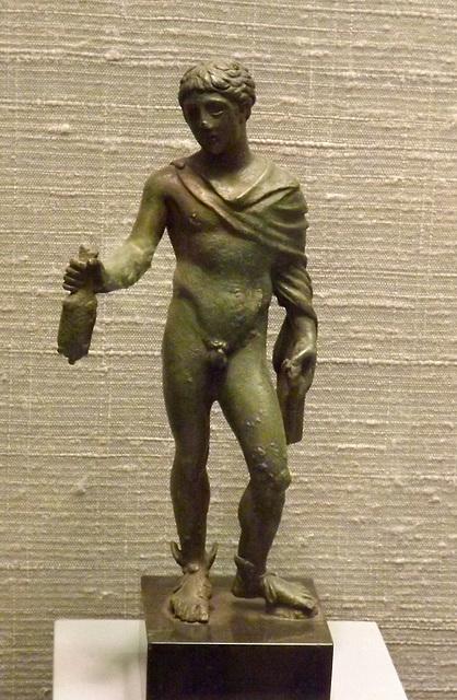 Statuette of Mercury in the Princeton University Art Museum, September 2012