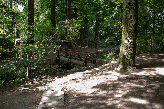 20140520 3501VRAw [D~DU] Bachbrücke, 6-Seenplatte, DU-Wedau