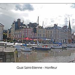 Quai St Etienne Honfleur  - 24.10.2010