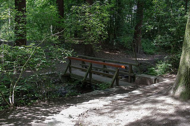 20140520 3500VRAw [D~DU] Bachbrücke, 6-Seenplatte, DU-Wedau
