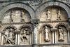 Sculptures de la façade de la Cathédrale d'Angoulême