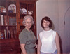 Mary and her granny, 1966