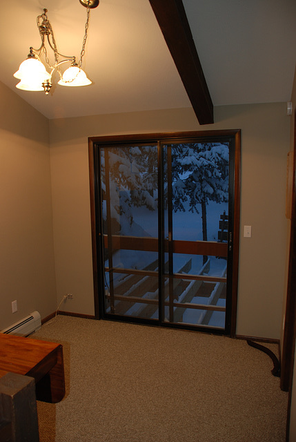 Patio Door and Deck