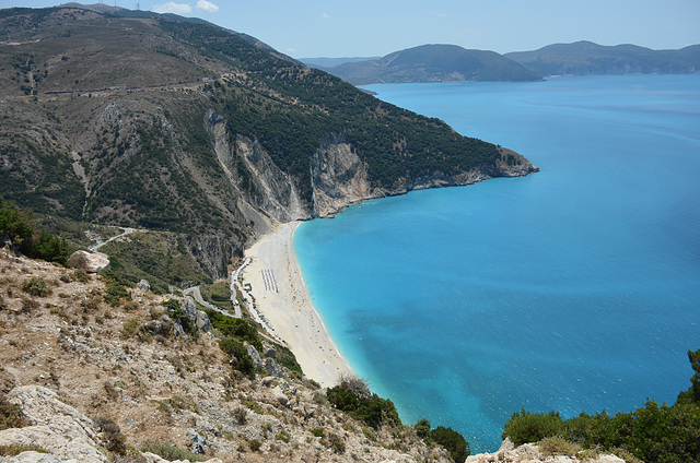 Myrtos (from the north layby)
