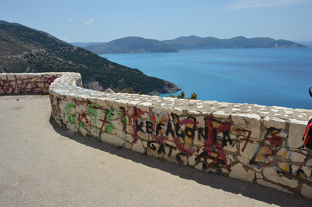 graffiti with a view