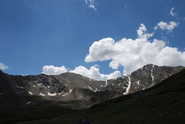 Clouds Over the Ridgeline