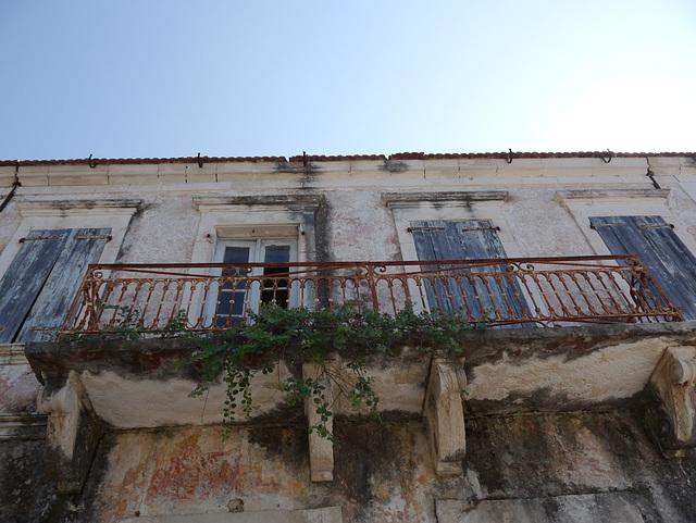 derelict balcony