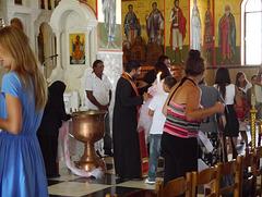St. Gerasimos, christening