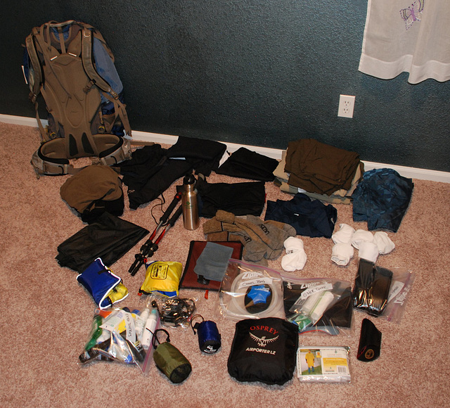 Backpack Layout
