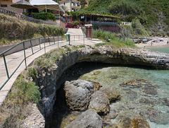 by Avithos Beach, Karavados