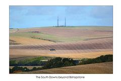 South Downs beyond Bishopstone - 16.9.2013